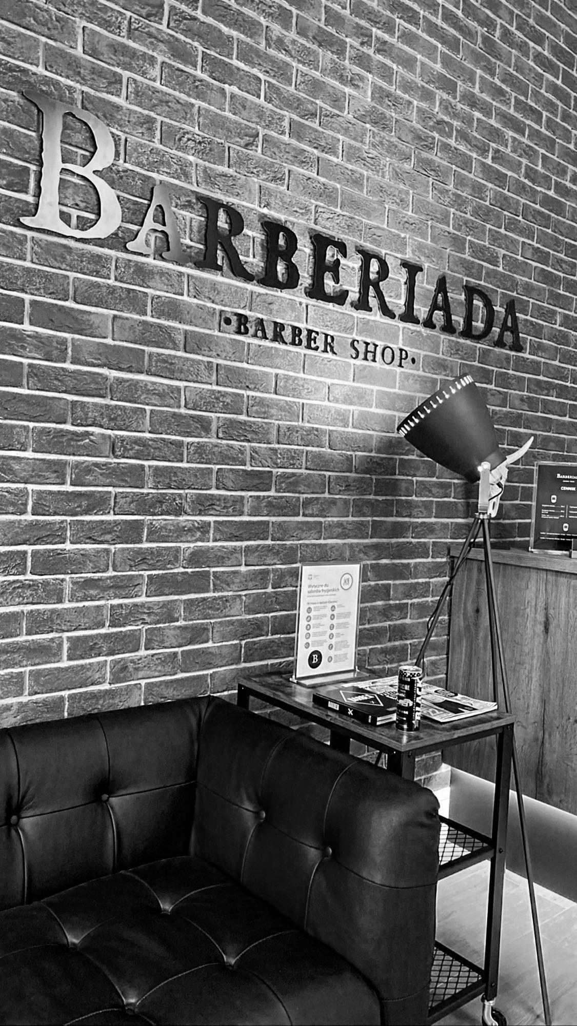 Barberiada Barber Shop recepcja